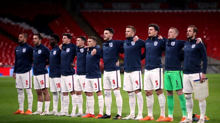¿Quién forma parte de la undécima selección de Inglaterra?