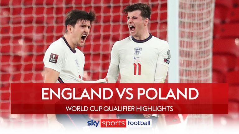 Miniatura meciului Angliei împotriva Poloniei