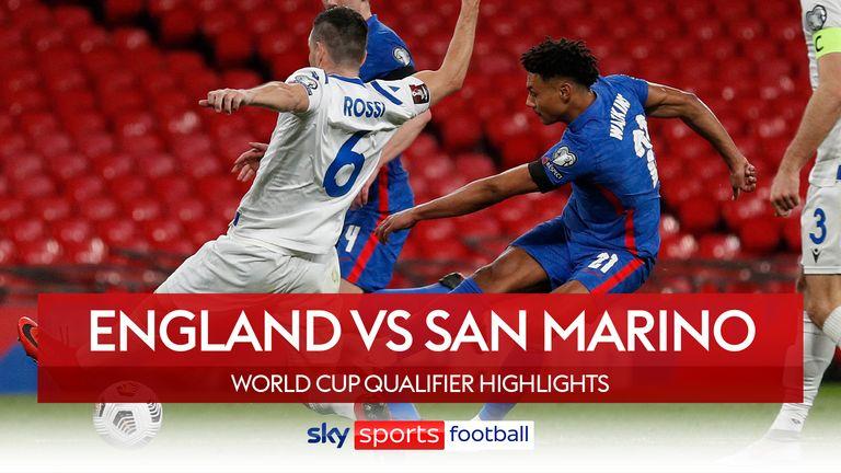 England 5-0 San Marino