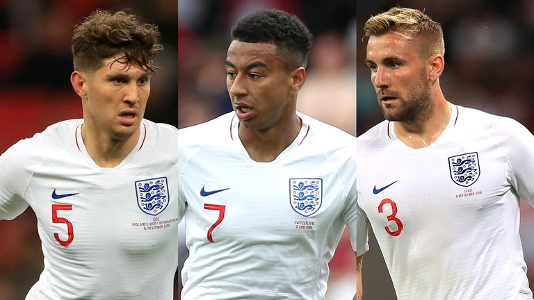 John Stones, Jesse Lingard i Luke Shaw powrócili do angielskiego składu Garetha Southgate