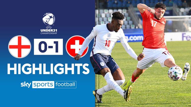 Utilisation de l'Angleterre U21 vs Suisse U21