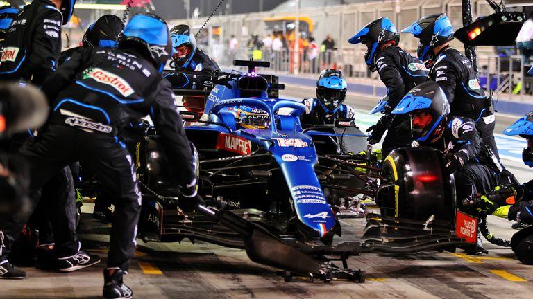 Fernando Alonso: How a sandwich wrap foiled the Bahrain GP back with Alpine F1
