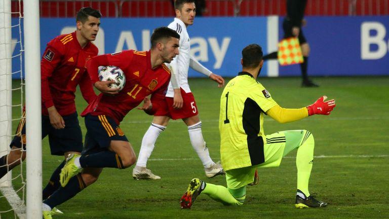 Domenica Ferran Torres pareggia per la Spagna contro la Georgia