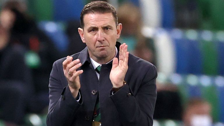 Northern Ireland manager Ian Baraclough is willing to donate his brain for dementia research