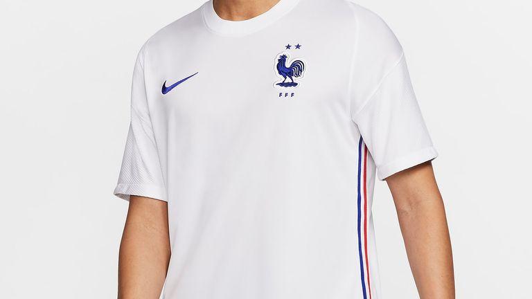France away shirt euro 2020