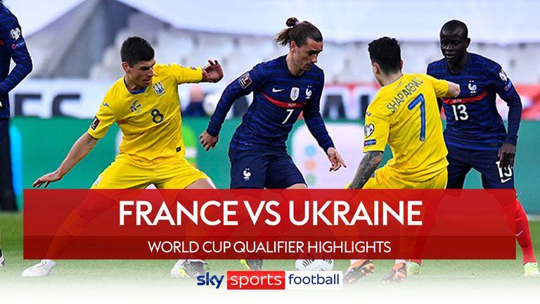 La France affronte l'Ukraine en éliminatoires de la Coupe du monde