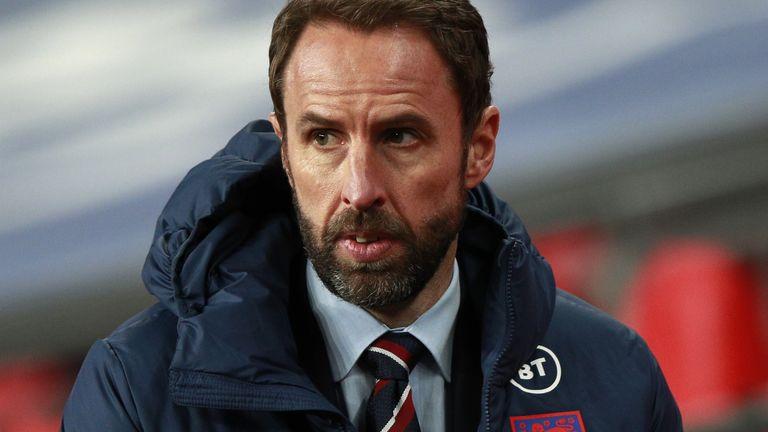 El entrenador de Inglaterra Gareth Southgate