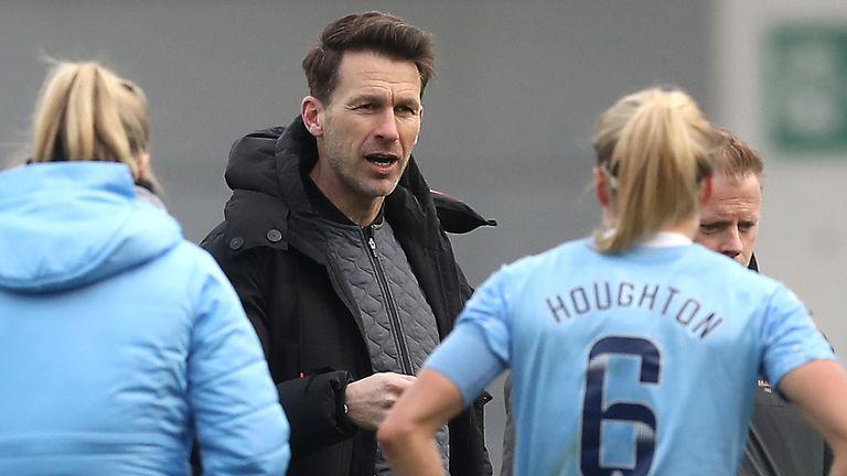 Manchester City women's boss Gareth Taylor (PA)