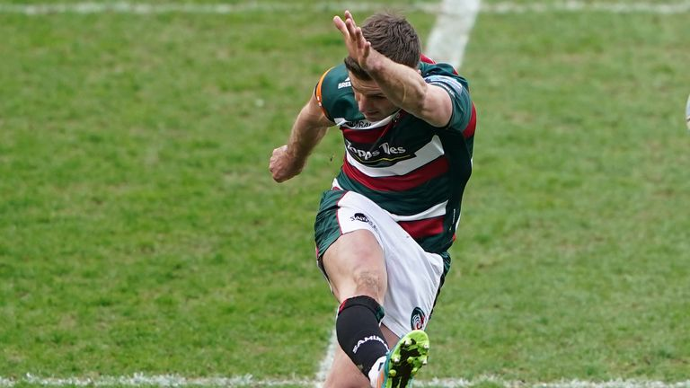 George Ford shone for the Leicester Tigers as they picked up victory over Newcastle on Sunday