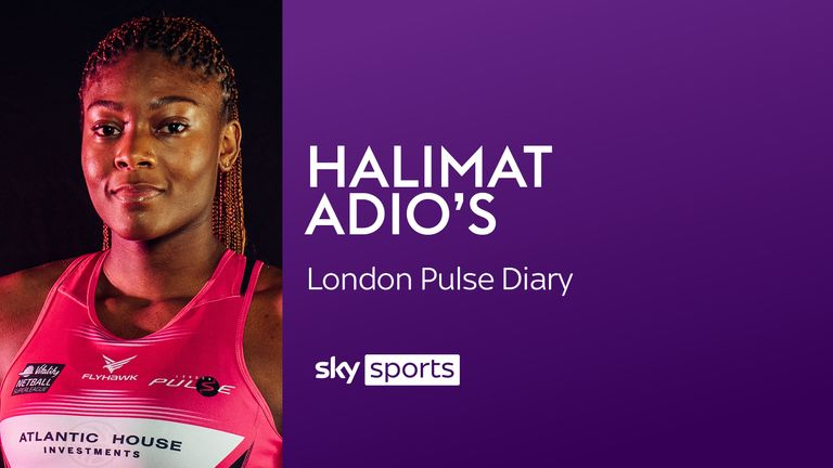 London Pulse and England Futures' Halimat Adio will be keeping us up to date with the Vitality Superleague season with her regular player's diary