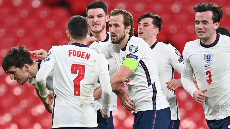 England 2-1 Poland: Harry Maguire scores winner after John Stones' mistake allowed Jakub Moder to cancel out Harry Kane penalty