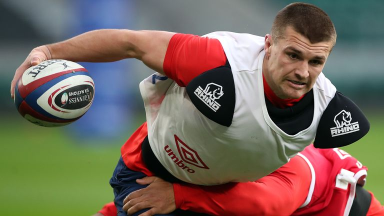 Slade suffered a lower leg injury in England training on Monday