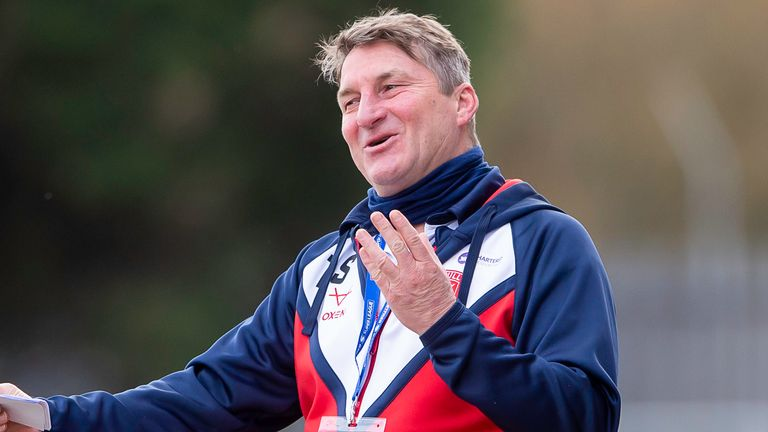 Tony Smith could not fault Hull KR's effort in the defeat to Catalans