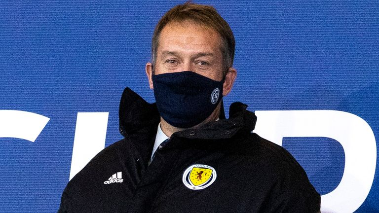 Ian Maxwell, Chief Executive of the Scottish Football Association