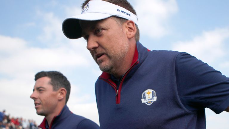 Rory McIlroy and Ian Poulter were paired together at the 2012, 2014 and 2018 Ryder Cups