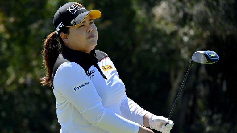 Inbee Park finished tied-15th at the Hugel-Air Premia LA Open last week
