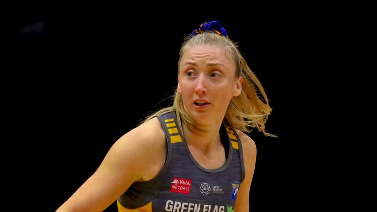 Leeds Rhinos Netball have displayed incredible resilience during their maiden season in the competition (Image Credit - Ben Lumley)