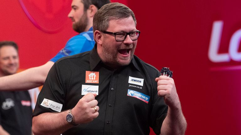 James Wade returned to form with a stunning triumph at the UK Open