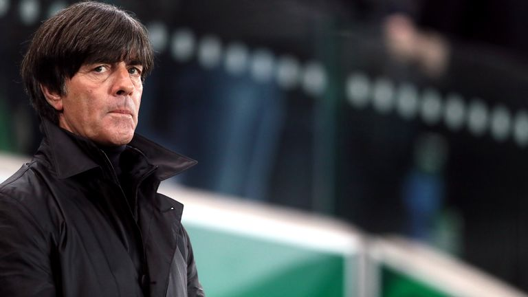 Germany manager Joachim Low during the 2018 FIFA World Cup Qualifying, Group C match at Windsor Park, Belfast. PRESS ASSOCIATION Photo. Picture date: Thursday October 5, 2017. See PA story SOCCER N Ireland. Photo credit should read: Brian Lawless/PA Wire. RESTRICTIONS: Editorial use only, No commercial use without prior permission.