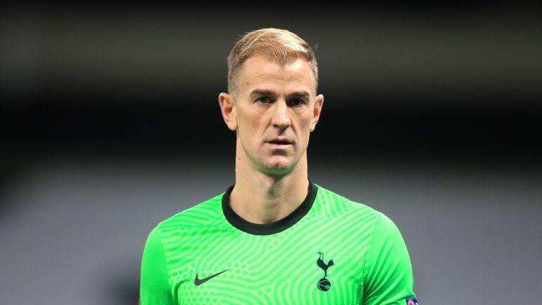 Joe Hart says a member of his social media team is responsible for his controversial 'job done' post following Tottenham Europa League exit
