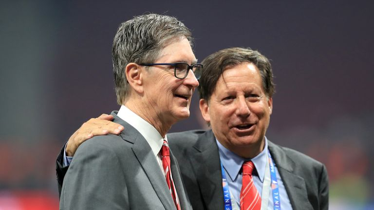Liverpool owner John Henry and club chairman Tom Werner say the investment is the next step in FSG's evolution
