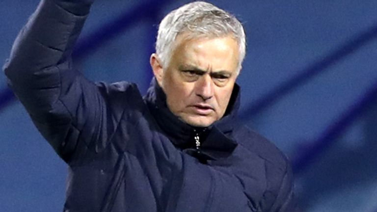 Jose Mourinho signed a three-and-a-half-year contract when he succeeded Mauricio Pochettino at Tottenham in November 2019