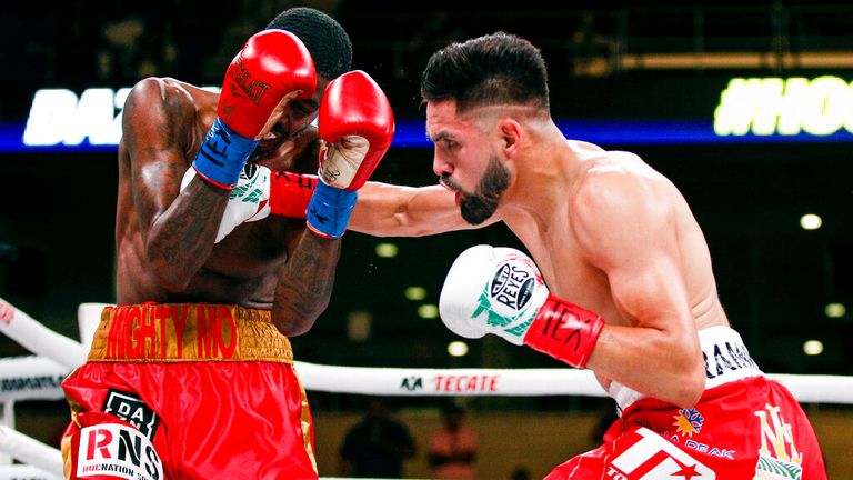 Jose Ramirez won a unification fight with Maurice Hooker
