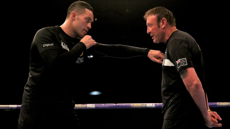 Joseph Parker announces amicable separation from coach Kevin Barry after last weekend's win over Junior Fa |  Boxing News