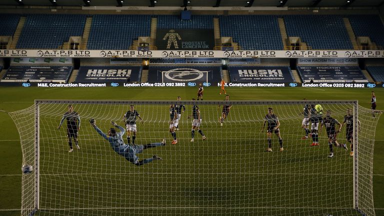 Brownhill's only Burnley goal to date was a belter away to Millwall