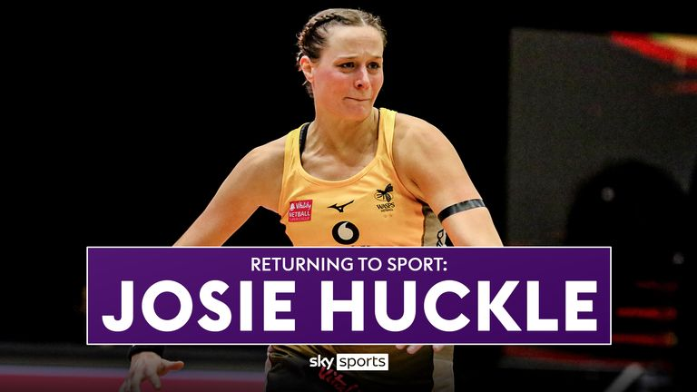 Wasps Josie Huckle has balanced a return to Superleague action with her job as Head of Netball