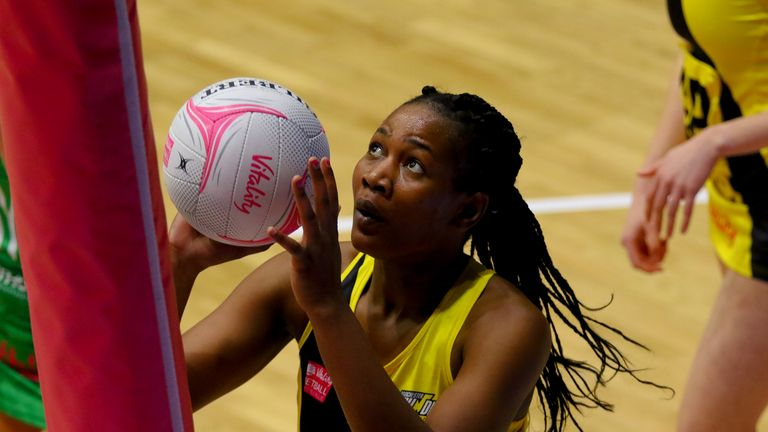 Joyce Mvula will return to Manchester Thunder for another season (Image credit - Ben Lumley)