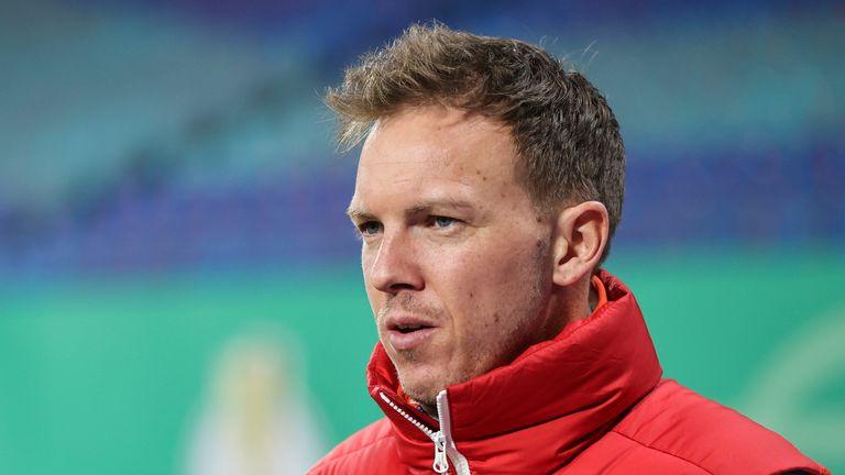 AP - RB Leipzig coach Julian Nagelsmann