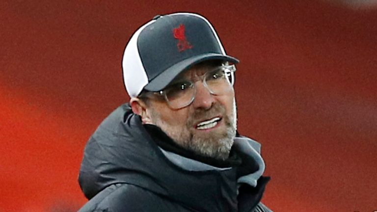 """Jurgen Klopp insists Liverpool's 1-0 defeat to Chelsea is a """"massive blow"""" to his side's hopes of finishing in the Premier League's top four."""