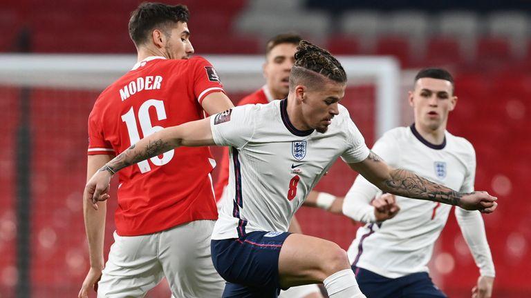 Kalvin Phillips, England vs Poland