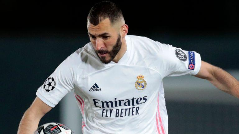 Karim Benzema opened the scoring against Atalanta on Tuesday