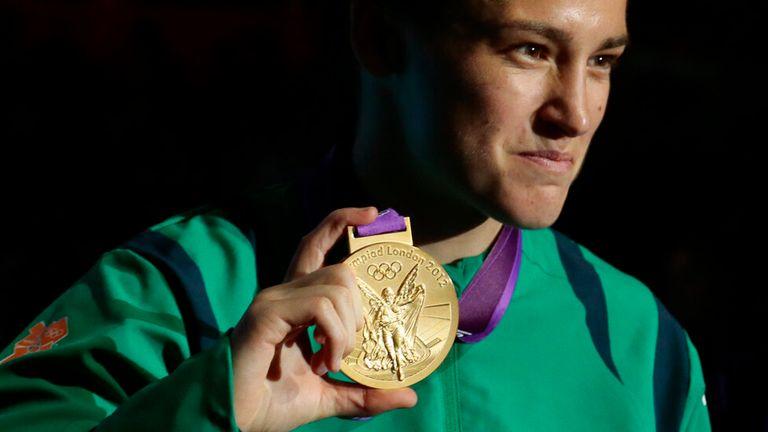 Katie Taylor won lightweight gold at London 2012