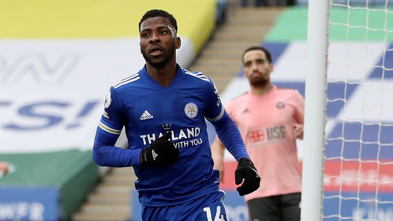 Kelechi Iheanacho: Leicester striker extends contract until 2024 after winning Player of the Month award   Football News   Sky Sports