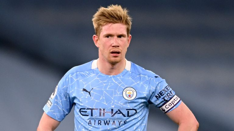 Kevin de Bruyne admits City fell below their standards as the run was ended