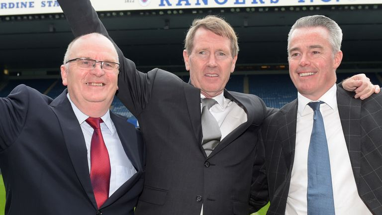Dave King took over at Rangers in March 2015
