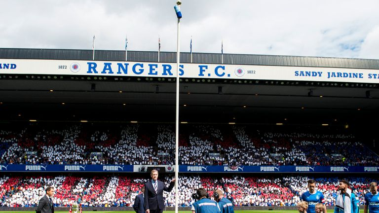 King says he wants current chairman Douglas Park to unfurl the Premiership flag next season
