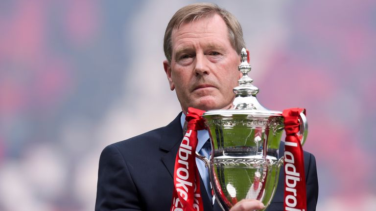 King helped Rangers return to the top of Scottish football during his six years at Ibrox