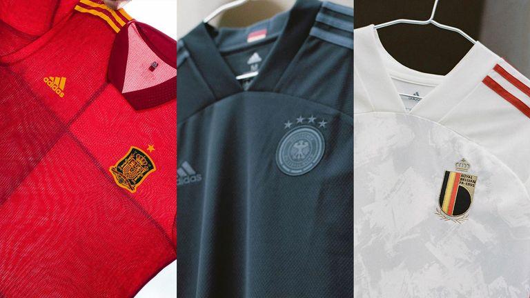 Euro 2020 kits piece