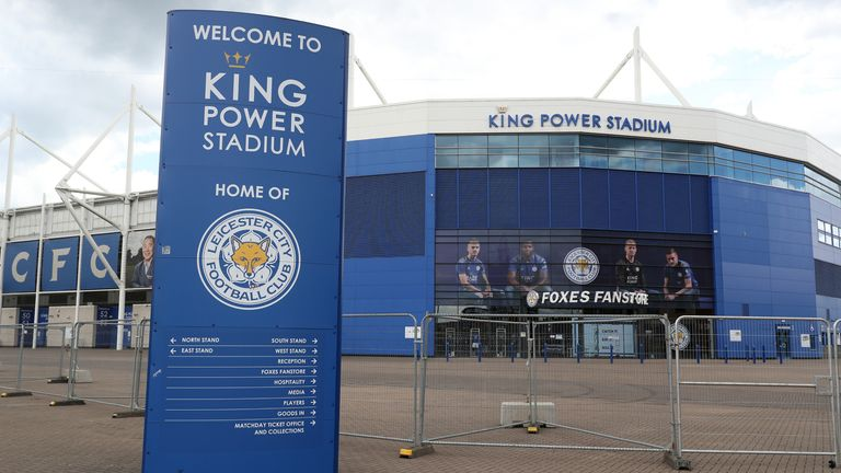 Leicester City's King Power Stadium (PA)