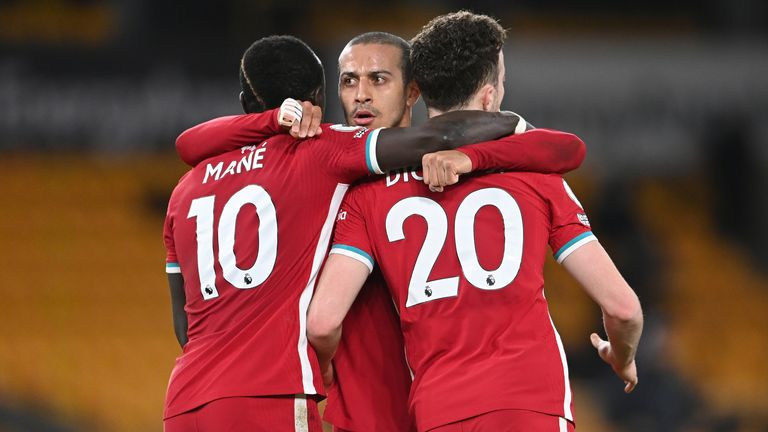 PA - Diogo Jota's goal gave Liverpool victory against Wolves
