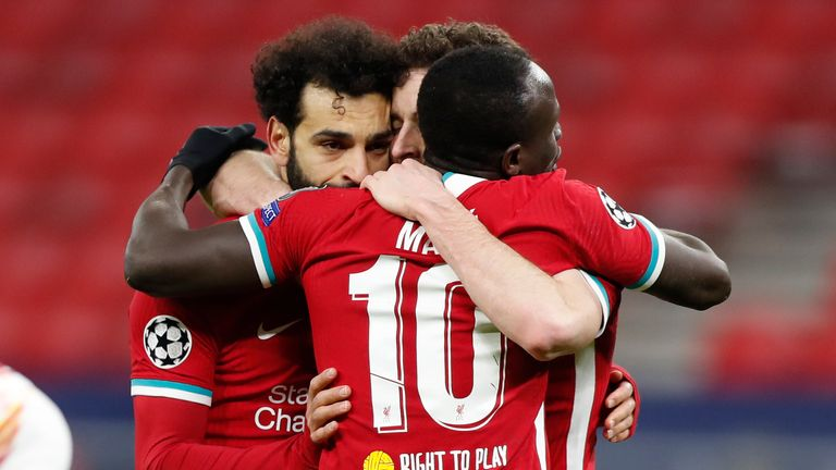 Salah, Mane and Jota combined for Liverpool's opener