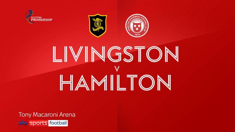 Livingston v Hamilton badge