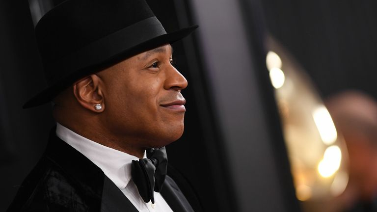 US rapper LL Cool J arrives for the 62nd Annual Grammy Awards on January 26, 2020, in Los Angeles. (Photo by VALERIE MACON / AFP) (Photo by VALERIE MACON/AFP via Getty Images)