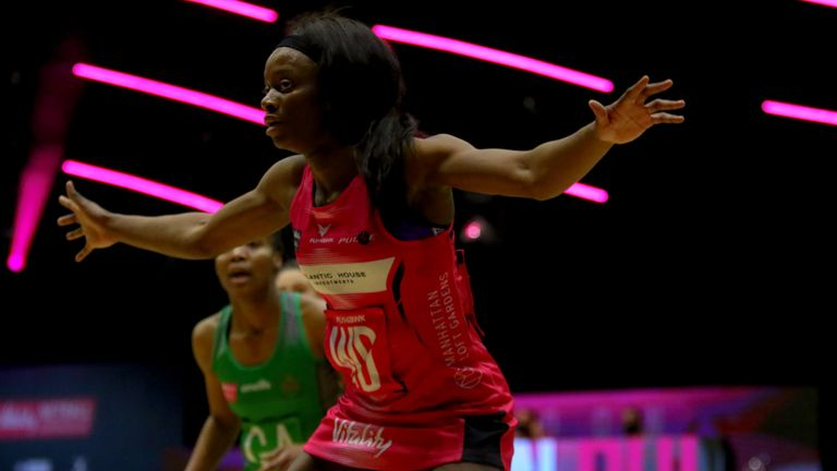 Funmi Fadoju starred for London Pulse has they claimed their first win of the season - at the fifth attempt (Image: Ben Lumley)