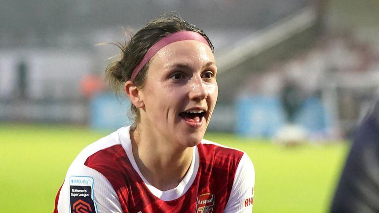 PA - Arsenal's Lotte Wubben-Moy