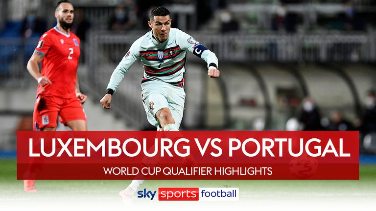 Luxembourg mot Portugal